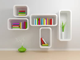 Floating Box Shelves by Delightful Floating Box Shelves With Birch Plywood And Painted