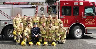 career as a burnaby firefighter