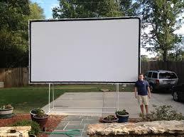 rent outdoor movie screen and projector u2014 jen u0026 joes design best