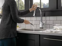 faucet com 9183t ar dst in arctic stainless by delta