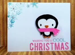 cute christmas card cardsbymo