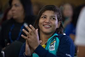 Sarah Menezes fatura bronze no Grand Slam de Tóquio e encerra ...