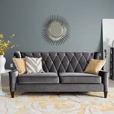 tufted sofa furniture velvet couch kendall sofa grey tufted sofa