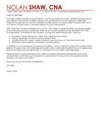 covering letter for resume samples best nursing aide and assistant cover letter examples livecareer choose