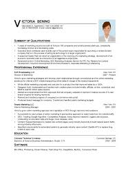 Personal Summary Resumes Template  cover letter how to write a     happytom co