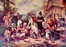 The History Of Thanksgiving Video Jean Leon Gerome Ferris The First Thanksgiving Xoax Net Video