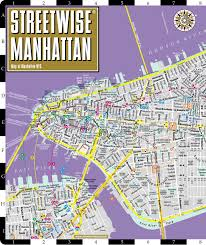 Subway Nyc Map by Streetwise Manhattan Map Laminated City Street Map Of Manhattan