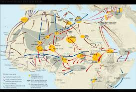 Exodus Route Map by Welcome To Agadez Smuggling Capital Of Africa U2013 Politico