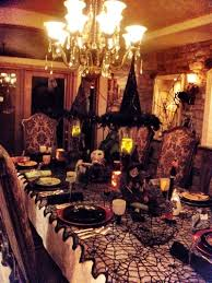 halloween a haunted dinner party halloween food table decor