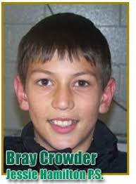 ... as a member of the Jessie Hamilton Public School volleyball contingent. - toppers_athlete_crowder