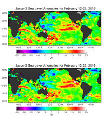 Map Of The Red Sea Space Images Jason 3 Produces First Global Map Of Sea Surface Height