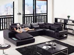 Black Leather Couch Living Room Ideas Living Room Leather Sofas Home Paris 1 Contemporary Black Leather