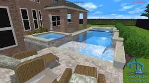 aqua blue designs 3d pool studio designs