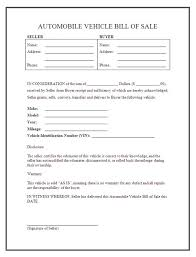 printable sample equipment bill of sale template form online