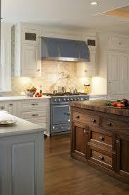 Kitchen Appealing Kitchen Backsplash Pictures With White Cabinets - Crackle subway tile backsplash