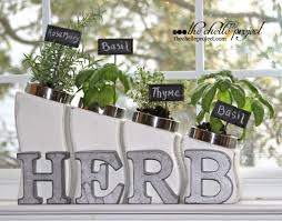 diy kitchen canister indoor herb garden the chelle project