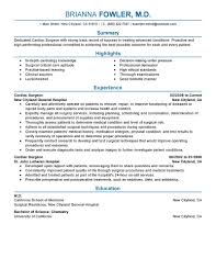 executive chef resume examples best surgeon resume example livecareer surgeon advice