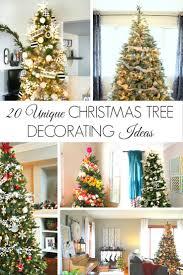 20 unique christmas tree decorating ideas amotherworld