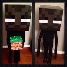Halloween Minecraft Costume Easy
