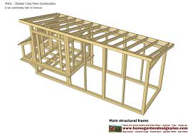 chicken house plans free download with inside a frame chicken coop