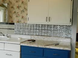 Aluminum Kitchen Backsplash 28 Easy Diy Kitchen Backsplash 16 Inexpensive Amp Easy Diy