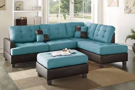 Kmart Sofas Excellent Turquoise Leather Sectional Sofa 24 With Additional