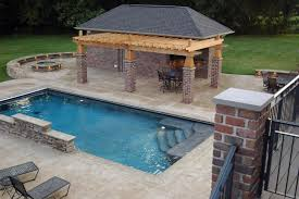 Design Your Own Outdoor Kitchen Rectangle Pool Designs Lightandwiregallery Com