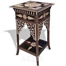 moroccan style tables