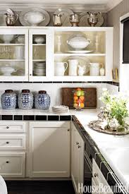 Small Kitchen With White Cabinets 25 Best Small Kitchen Design Ideas Decorating Solutions For
