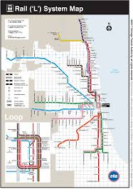 Chicago Suburbs Map Cta Maps Bus And U0027l U0027 System Maps