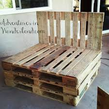 Patio Furniture Wood Pallets - how to build an outdoor couch with pallets part 1