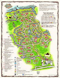 Port Orleans Riverside Map Disney Resorts Fort Wilderness Resort U0026 Campground Map