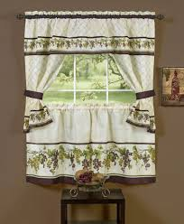 Kitchen Drapery Ideas Bay Window Curtain Ideas Decorating With White Bay Window