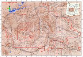 Lake Powell Map Lapahie Com 6 5 Map Of The Navajo Nation Full Size