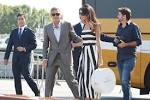 George Clooney and Amal Alamuddin are dazzling as they arrive in ... stylelist.com
