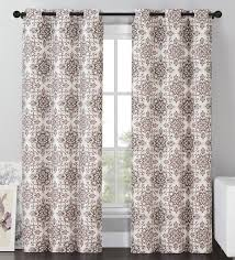 Blackout Curtain Panels Vcny Sylvia Blackout Window Curtains Grommet Thermal 2 Panel Set