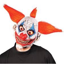 giggles the clown mask full head