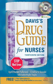 Books Reference   Nursing   Subject Guides at Auburn University Auburn University LibGuides Davis     s Drug Guide for Nurses