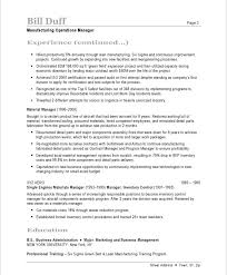 Sample Test Manager Resume by Manufacturing Manager Resume Samples U0026 Examples