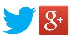 Image result for twitter and google+