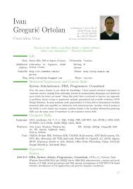 Objectives For Resumes Examples by Curriculum Vitae How To Write A Resume For A Fresher Resume