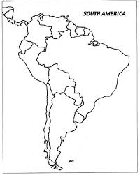 South America Map And Capitals by Cratercomets Com Of Business