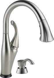 delta kitchen faucets delta leland single handle pull down