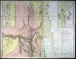 Map Of The New England Colonies by 1