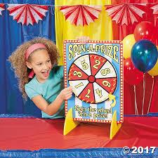 carnival spinner game