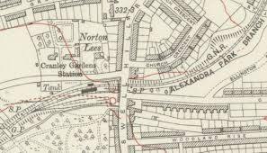 Cranley Gardens railway station