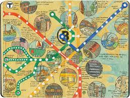 T Boston Map t time u2013 drawn the road again