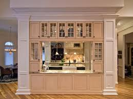 engaging built in dining room hutch with wine fridge hgtv homes
