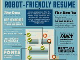 Best Resume Header Format by How To Get Past The Robots That Are Reading Your Resume Business