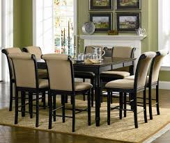 flooring cozy parson dining chairs with black round dining table